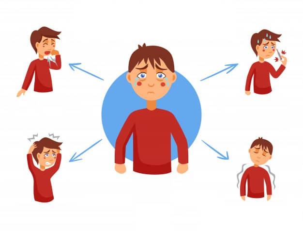 أعراض مرض الإدمان
