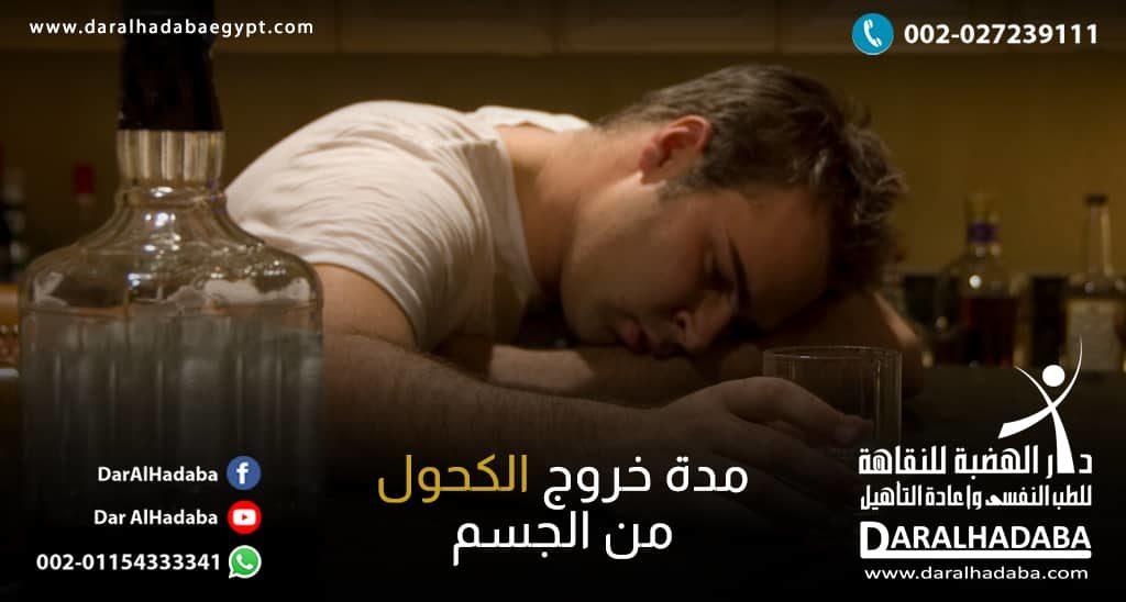 مدة خروج الكحول من الجسم